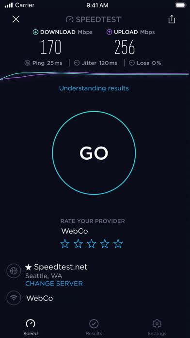 Speedtest by Ookla Screenshots