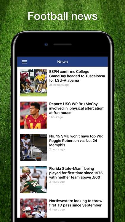 Scores App: College Football screenshot-6