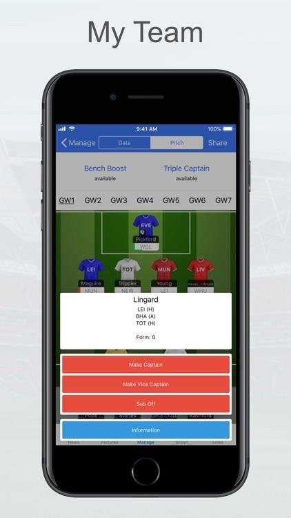 Fantasy Football Manager, Lite screenshot-3