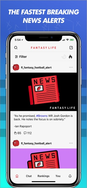 Fantasy Life: Alerts + Advice on the App Store
