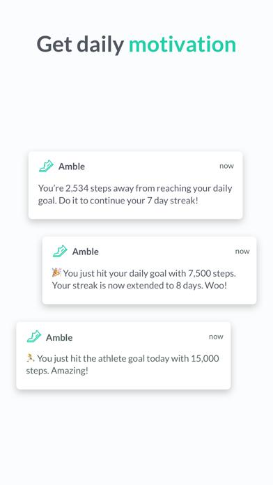 点击获取Amble - Better walking habits