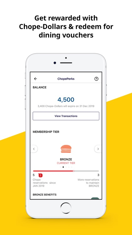 Chope - Discover, Book, Save screenshot-5