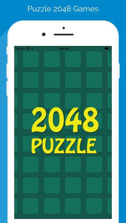 Puzzle 2048 Games screenshot-3