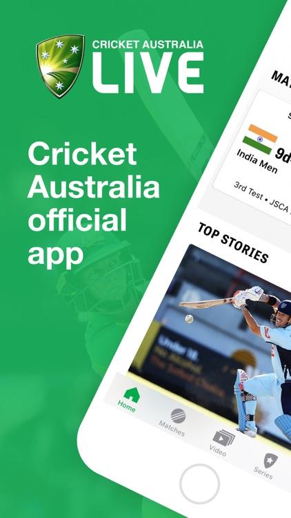 Cricket Australia Live