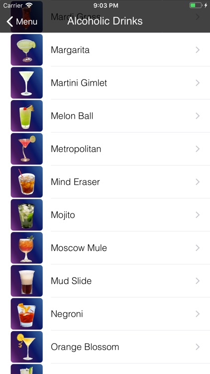 Bebidas & Drinks screenshot-1