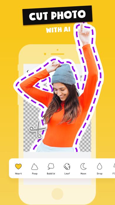 Stickers Funny of Meme & Emoji screenshot 4