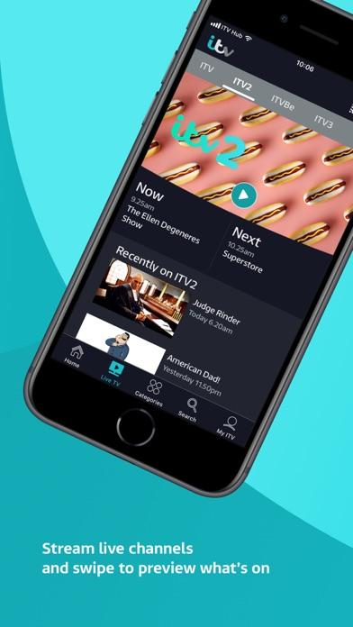 ITV Hub screenshot two