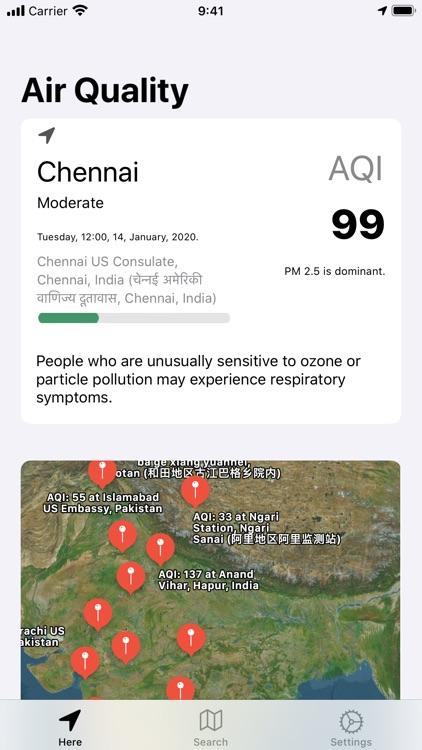 Inhale Air Quality Monitor