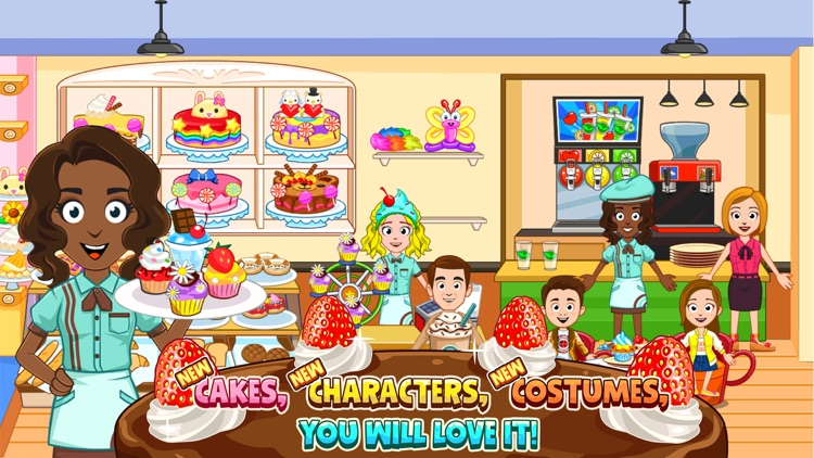 My Town : Bakery screenshot-1
