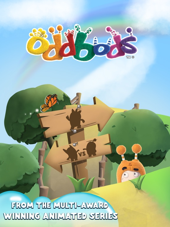 Oddbods Dominoes на iPad