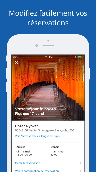 Screenshot for Booking.com – Offres de Voyage in France App Store