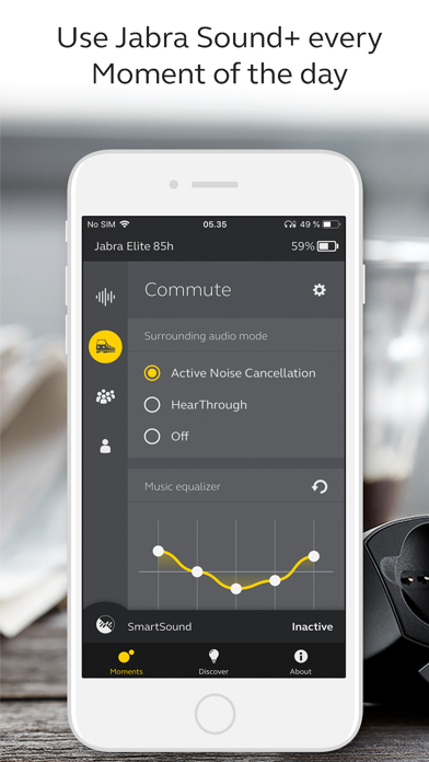 Jabra Sound+ by GN Audio AS (iOS, United Kingdom) - SearchMan App