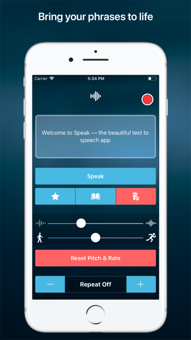 Speak • Speech Synthesizer by Loic Verrall (iOS, United States
