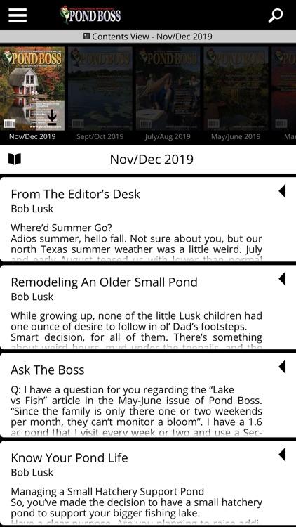 Pond Boss Magazine screenshot-4