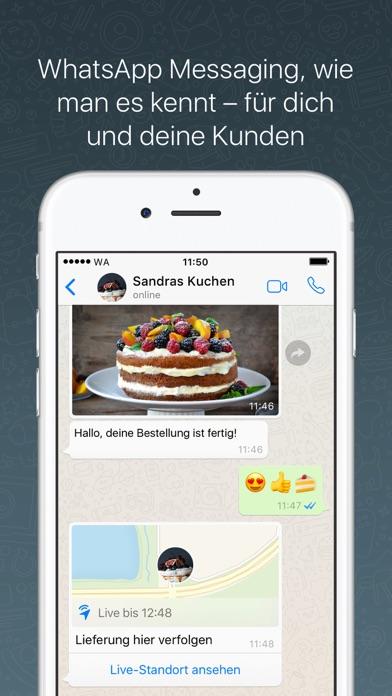 WhatsApp BusinessScreenshot von 2