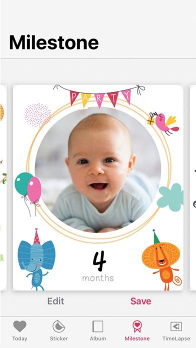 Folio - 赤ちゃんステッカーでかわいい成長アルバム作りのおすすめ画像3