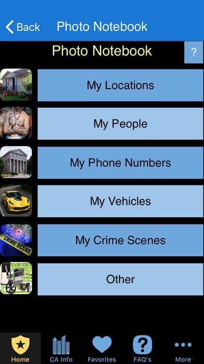 Pocket Brainbook for Police! screenshot-3