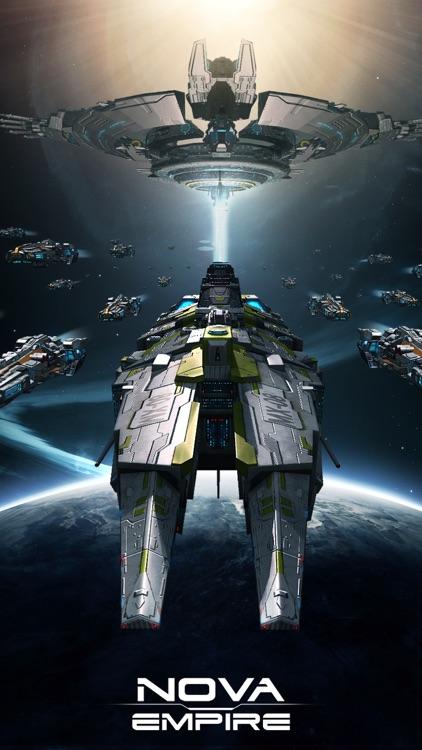Nova Empire: Space Battle MMO screenshot-0