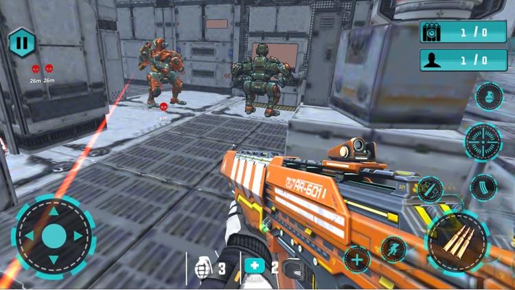 Robot Fighter War Operation screenshot-3