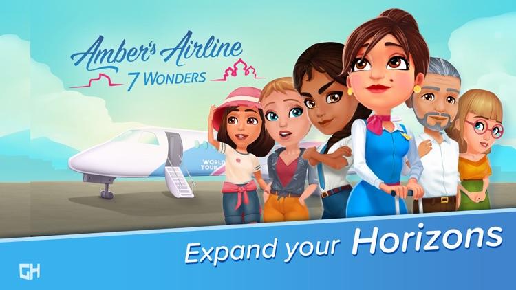 Amber's Airline - 7 Wonders screenshot-0