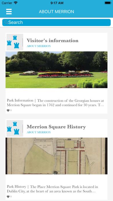 Dublin City Heritage Parks screenshot four