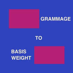 Grammage To Basis Weight