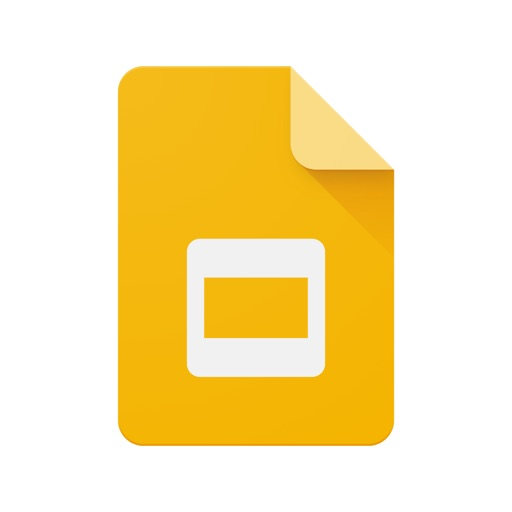 Google Slides free software for iPhone and iPad