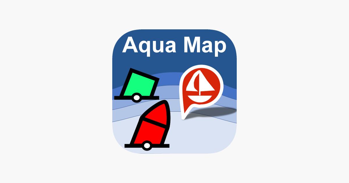 Aqua Map: Marine maps & GPS on the App Store