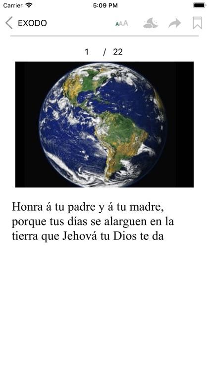La Santa Biblia con audio screenshot-4