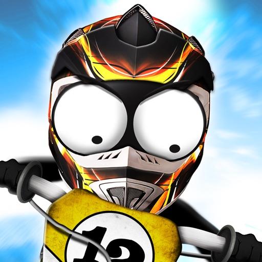 Stickman Downhill - Motocross