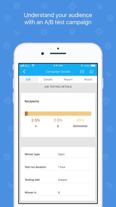 Zoho Campaigns-Email Marketing screenshot four