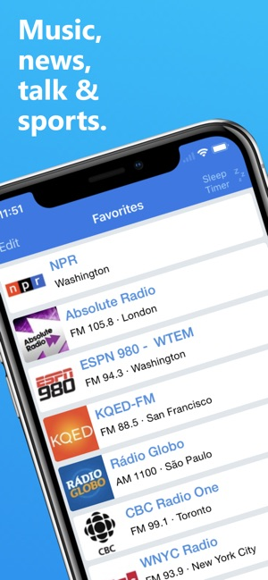 Best radio app for iphone without internet