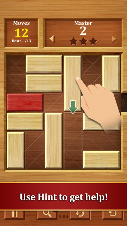 Move the Block : Slide Puzzle screenshot-1