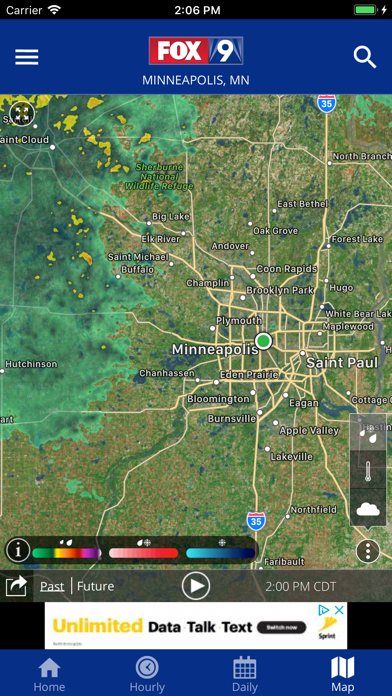 Fox 9 Weather Radar Alerts review screenshots