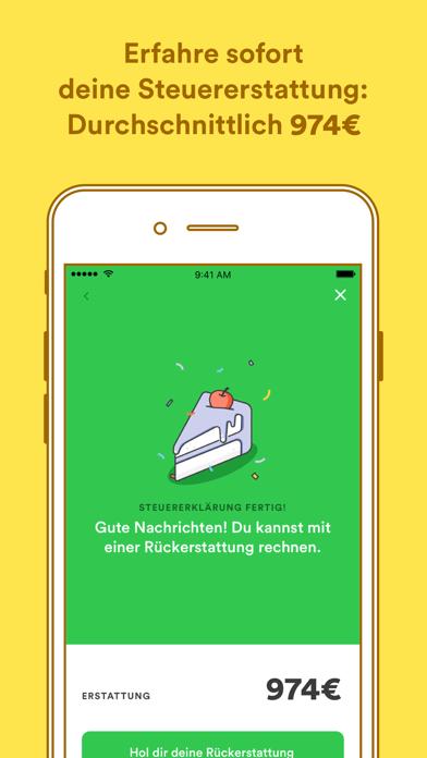 Screenshot for Taxfix - Die Steuer-App in Austria App Store