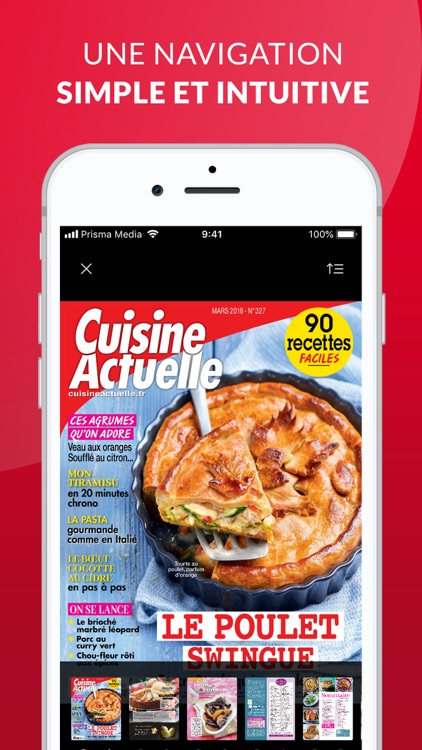 Cuisine Actuelle Le Magazine By Prisma Media