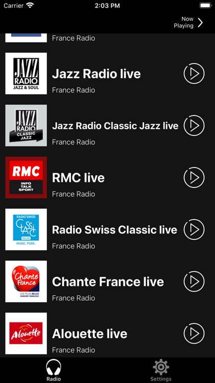 France Radio Online | FM et AM screenshot-4