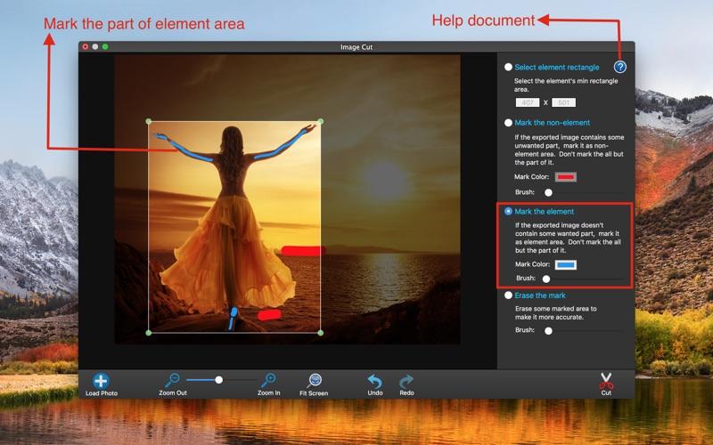 Photo Edit-Photo Image Cut for Mac
