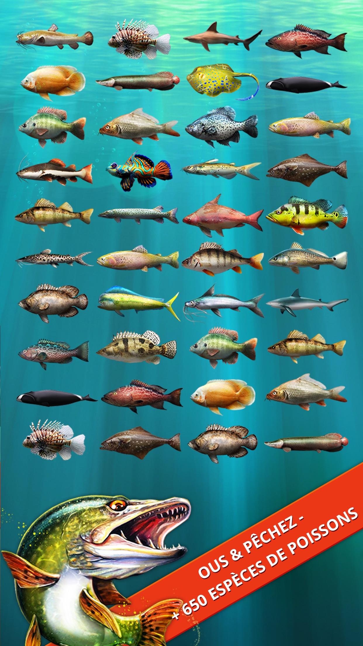 Let's Fish: Jeux de Pêche 2019 Screenshot