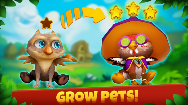 Epic Pets: match 3 & design