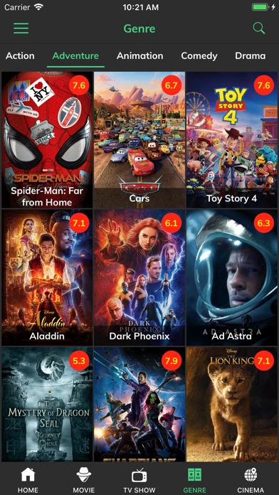 点击获取HD Movies - Play Movie Trailer