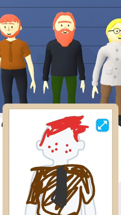 Line Up: Draw the Criminal screenshot 4