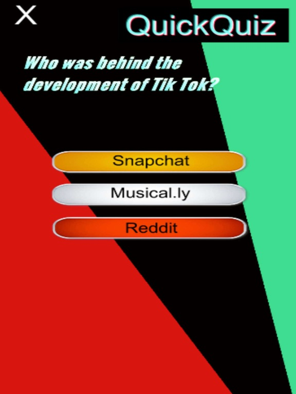 #1 Tik Tok Fans Quick Quiz