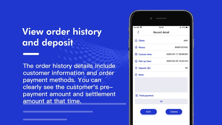 Ad shop logbook - Daily Orders