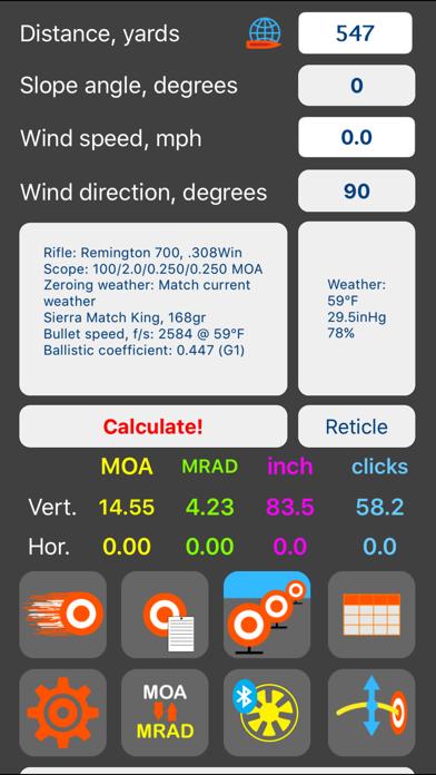 Screenshot for Strelok Pro in Jordan App Store