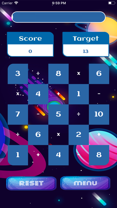 Screenshot #3 pour Math in the Space