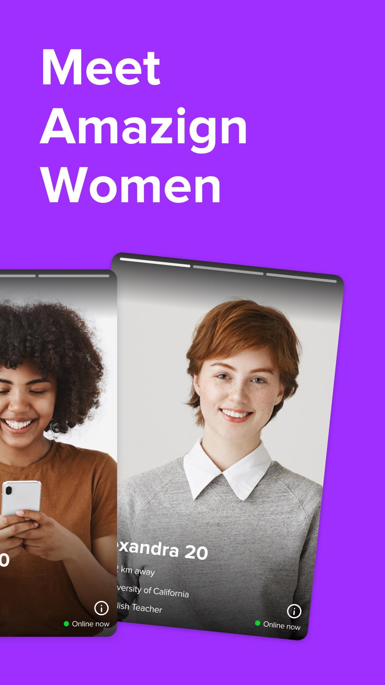 Zoe: Lesbian Dating & Chat App Screenshot