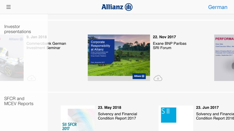 Allianz Investor Relations screenshot-4
