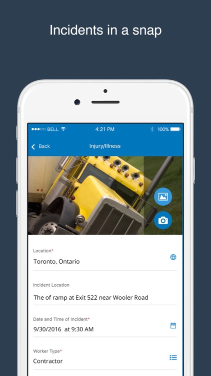 Intelex Mobile screenshot-3