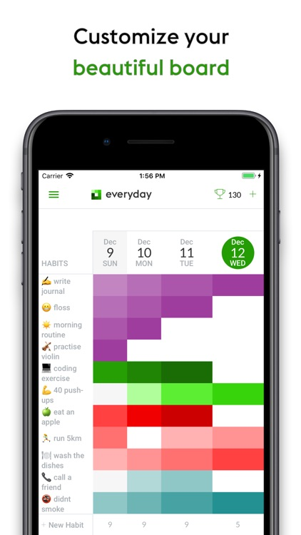 Everyday Habit Tracker screenshot-3
